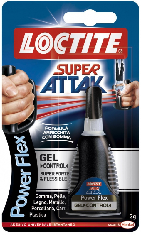 Attak Control Flex gel 3gr. - Loctite