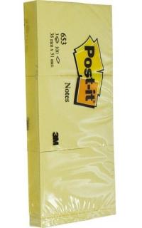 Post-it 38x51 Art.653 Confezione pz.12