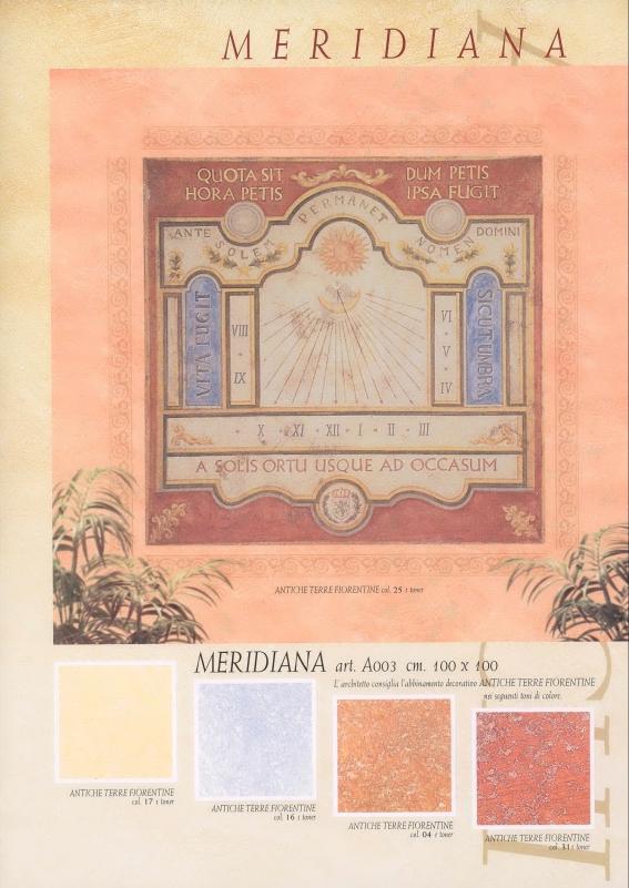 Affresco Meridiana 100x100