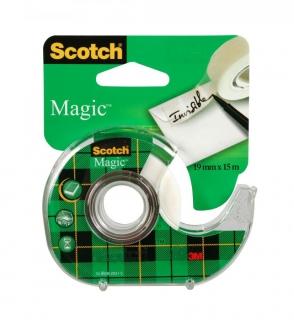 Nastro Adesivo Permanente Scotch Magic mm.19x7.5mt. Art.810 Chiocciola