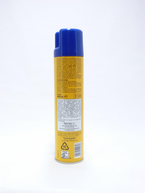 Antipolvere spray 400ml. - Nuncas