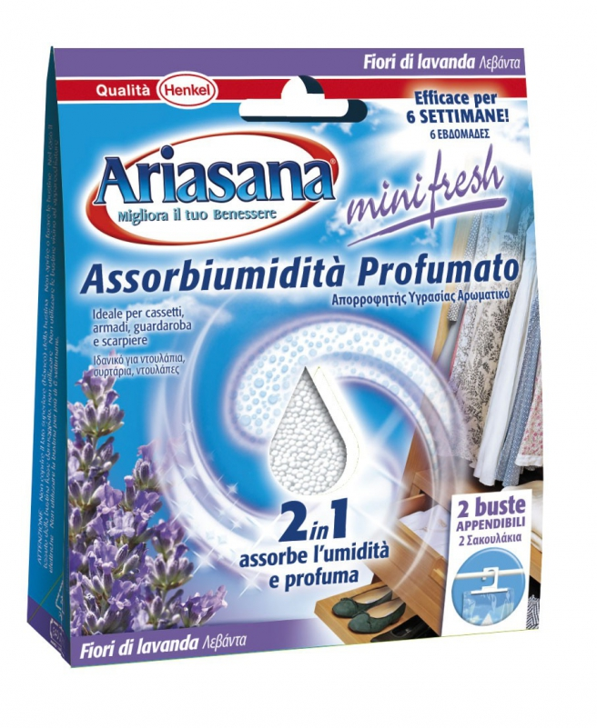 Ariasana - Mini Fresh Lavanda buste appendibili (in esaurimento)