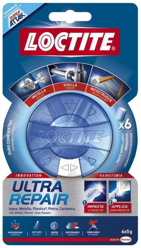Attak Ultra repair gr.5 confezione pezzi 6 - Loctite