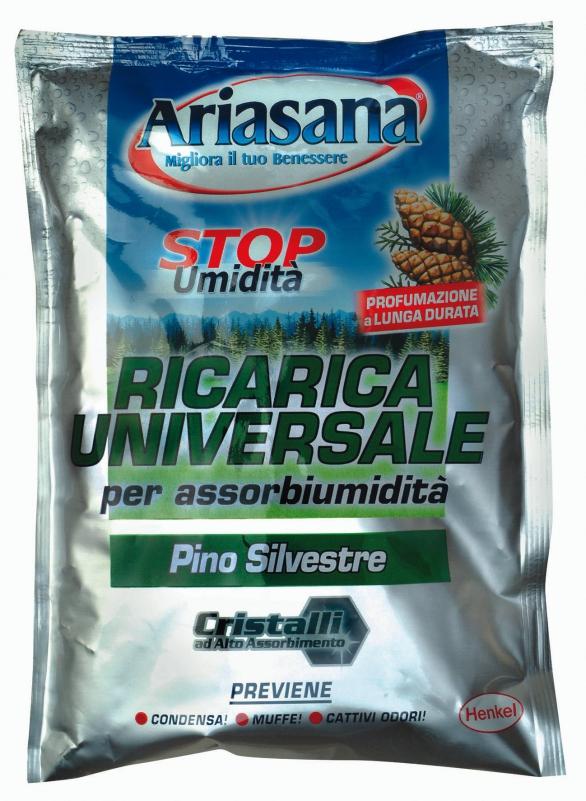 Ariasana - Sale Assorbi-Umidità  gr.450 Pino