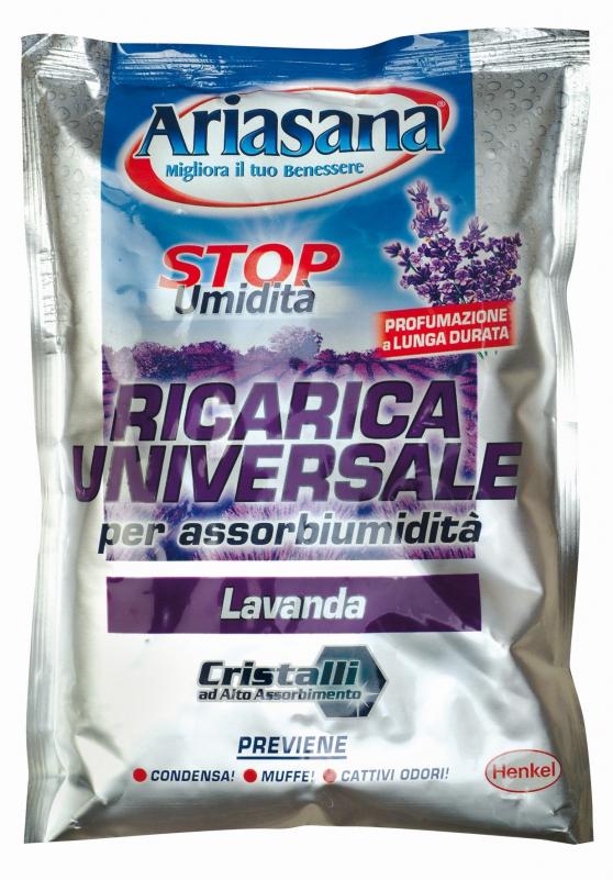 Ariasana - Sale Assorbi-Umidità e gr.450 Lavanda