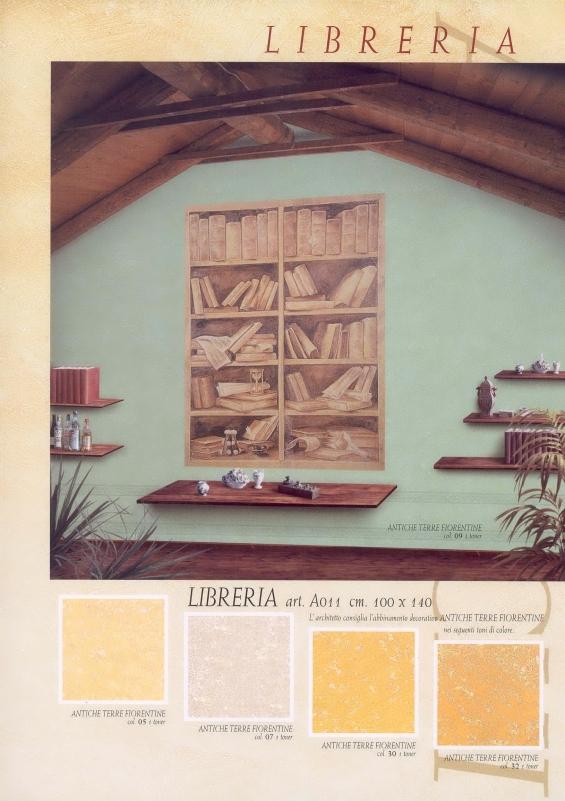 Affresco Libreria 100x140